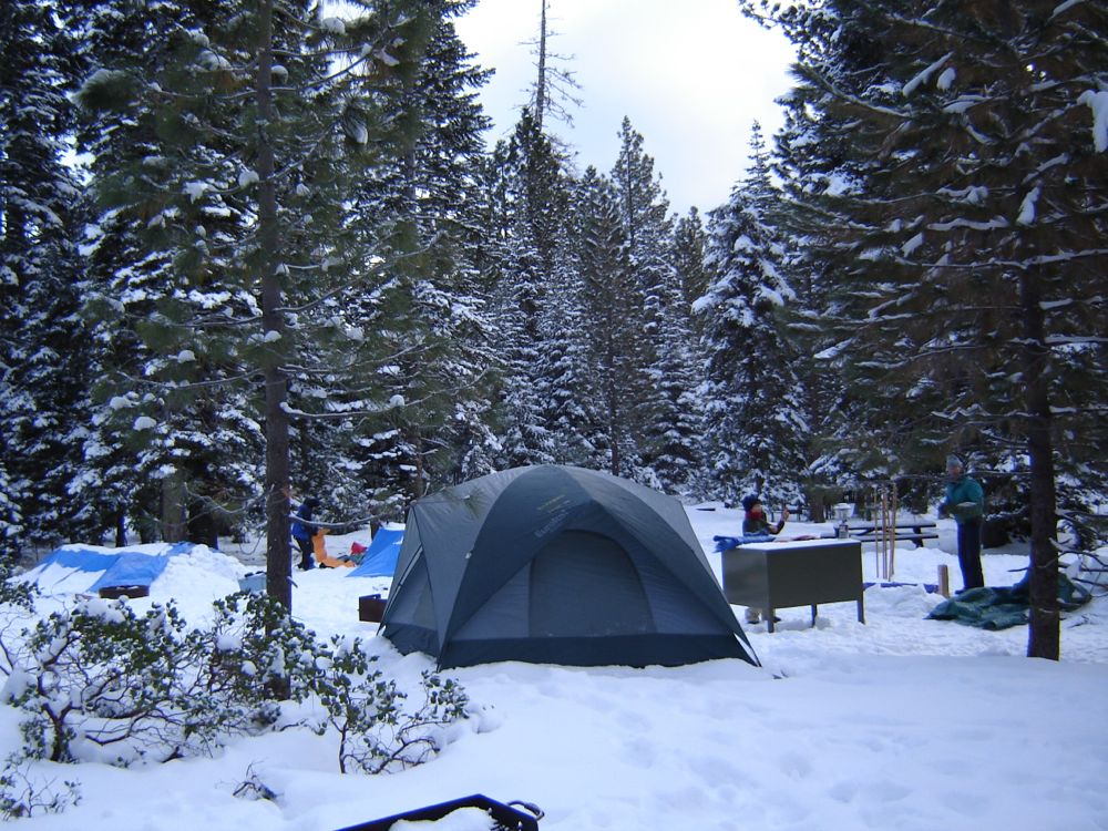 Winter Camping Our Travel Photo Gallery