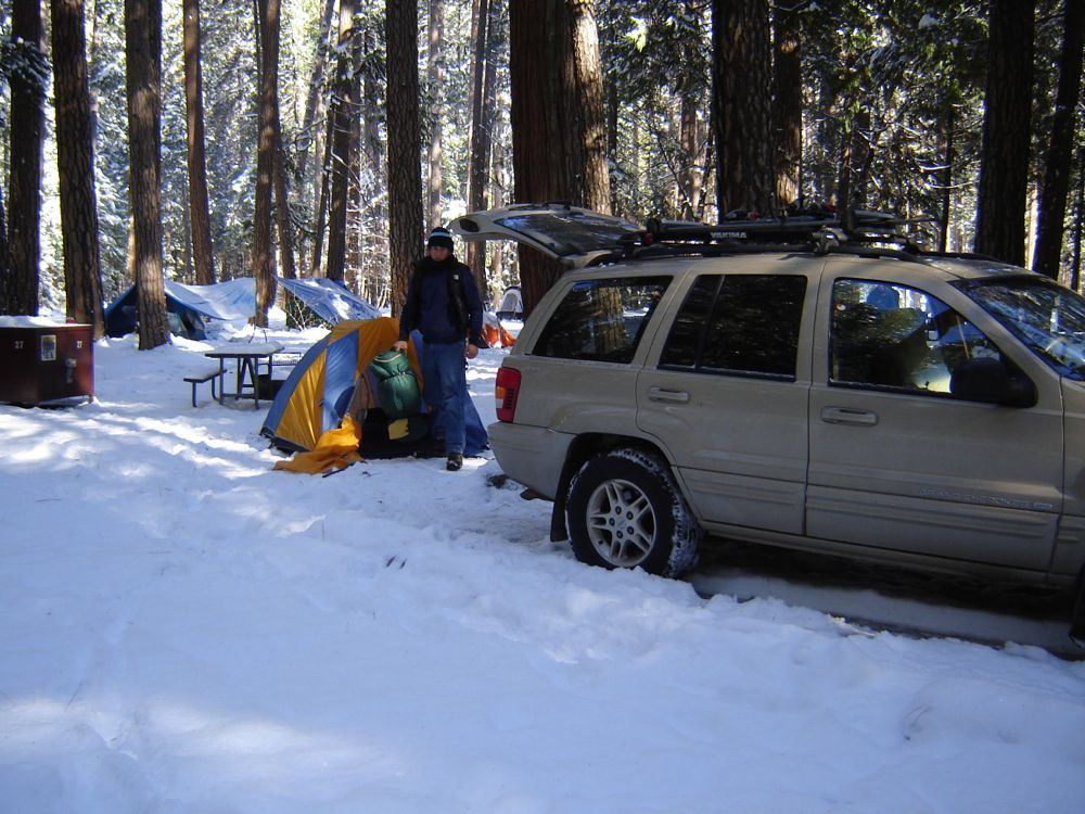winter camping 2006 Yosemite